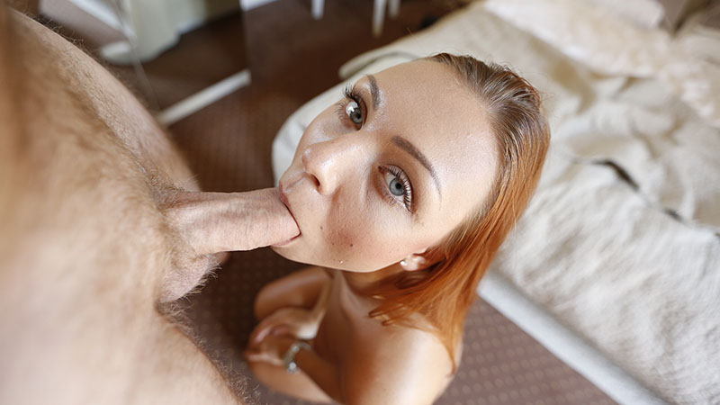 Raunchy date with stunning Czech redhead looking for holiday fuck