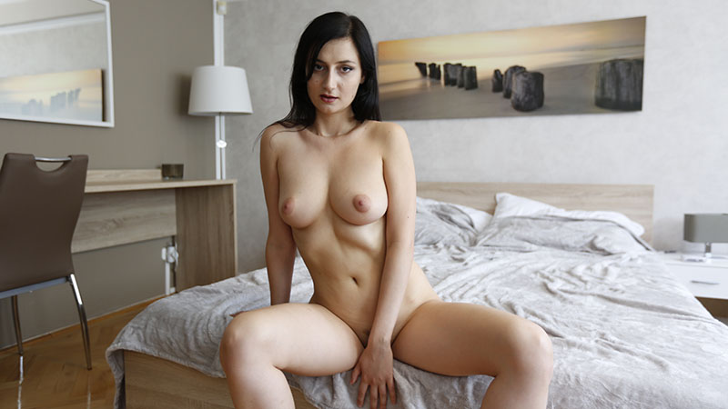 Exciting date with Russian girl ends with strip show in hotel room